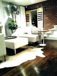 faux cowhide rugs black and white faux cowhide rug runner wheat silver a for less