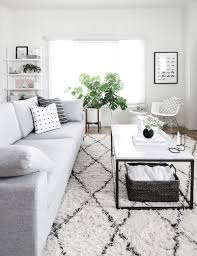 West Elm Living Room West Elm Black And White Modern Living Room By Amy Kim Of Homey