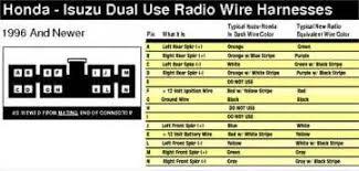 isuzu kb radio wiring diagram isuzu wiring diagrams