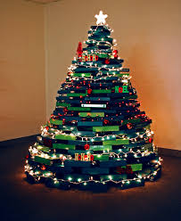 Ring Binder Christmas Tree