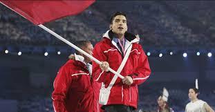 Le marocain Couscous Rocket, premier sportif de l'histoire qui participe à deux jeux olympiques dans deux disciplines différentes.