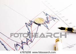 Financial Spread Btp Bund Chart Stock Photo K7875299