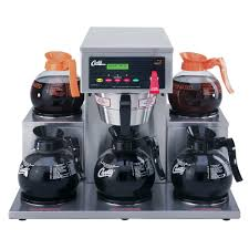 5 Cup Coffee Maker Curtis Alp5gt12a000 12 Cup Coffee Brewer With 5 Lower Warmers 120v