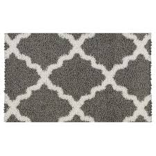 cool 1 8 x2 10 rug with maxy home moroccan trellis grey and white accent