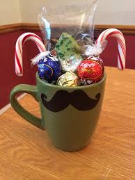2013 Cute Christmas Hot Chocolate Gifts Faux Stache Glass Chocolate For Christmas Gifts