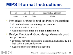 chapter instructions language of the computer  23