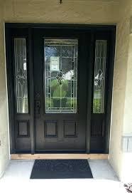 entry door with single sidelight door single entry door with side lite after hardwood sidelight door
