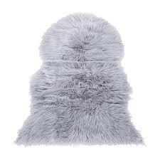 faux fur rug zoom