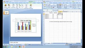 How To Link Excel Data To Powerpoint Chart How To Link Excel Chart In Powerpoint 2007