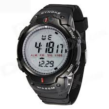 synoke men s led digital sports watch w alarm stopwatch black synoke men s led digital sports watch w alarm stopwatch black