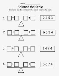 math worksheet mrs t s first grade class balance the scale balancing math equations worksheet