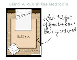 how to choose a rug for the bedroom