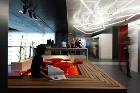 anz businesss centre modern office spaces orange anz office melbourne