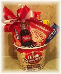 cheap raffle prizes movie theme basket with theater passes and movie treats silent