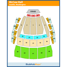 Mccaw Hall Seattle Seating Chart Marion Oliver Mccaw Hall Seattle Event Venue Information