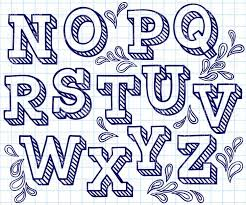 d a4b683f44c0e ce9 typography hand drawn alphabet hand lettering fonts