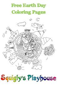 Earth Day Coloring Pages Kindergarten Free Sheets For Sheet