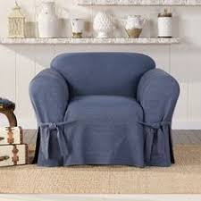 living room see more authentic denim chair slipcover indigo sure fit