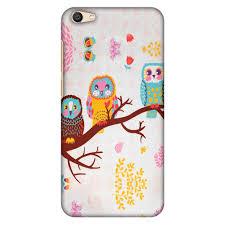 Amzer Designer Case Amzer Designer Case Owls On Branch Hard Protector Snap On