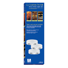 Disk Lights Commercial 9889 15 3 Light Xenon Disk Kit White