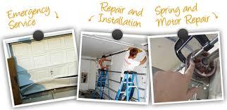 garage door repair and opener installation services