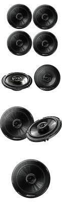 car speakers and speaker systems 2 boss audio mrgb65b 6 5 200w car speakers and speaker systems 4 x pioneer ts g1645r 6 5 250w full range