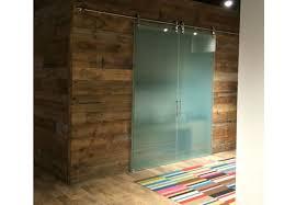 barn doors glass barn doors sliding glass doors for the office