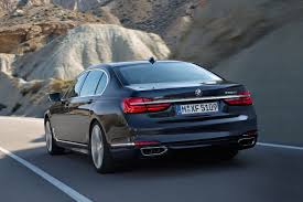 BMW Points Fingers with All-New 7-Series 2016 BMW 7-Series rear ...