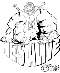 Religious Easter Coloring Pages 40762 Icce Unescoorg