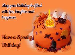 Spooky Halloween Birthday Wishes Free Happy Birthday Ecards