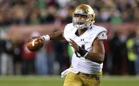 Handed Lifes Twists Notre Dame Quarterback Turns It Around