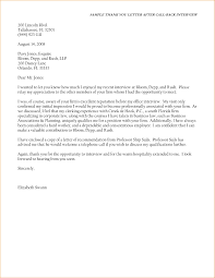 Medical Assistant Thank You Letter After Interview Cover Letter