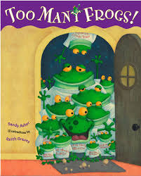 Too Many Frogs by Sandy Asher; Illustrated by Keith Graves | Penguin Random  House Canada