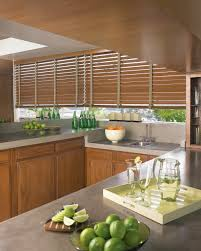 Blinds For Kitchen Windows Wood Blinds Allure Window Coverings Window Treatments