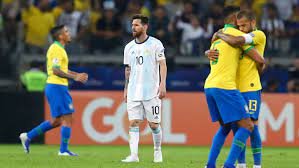 Brezilya - Arjantin: 2-0   Maç sonucu