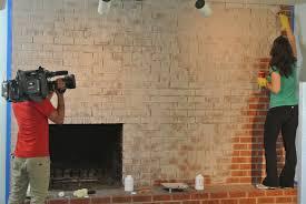 Renovate Brick Fireplace Brick Anew Paint Kit For Hgtv House Hunters
