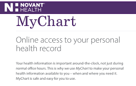 Www Novantmychart Org Mychart Novant Login Register