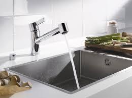 Dornbracht Kitchen Faucets Chromed Metal Mixer Tap Kitchen 1 Hole Swivel Spout Eno