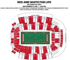 Odu Football Stadium Seating Chart Red Out White Out Seating Chart Vs Odu Pack Insider