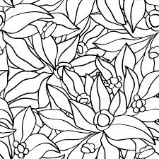 花とシームレスなシンプル背景ベクター花柄