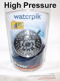 waterpik high pressure shower head modified to over 10 5gpm 6 settings water pik