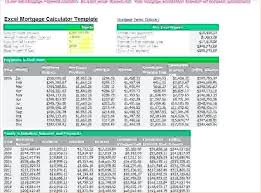 Mortgage Calculation Excel Mortgage Repayment Excel Spreadsheet ...