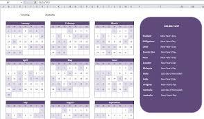 excel calandar excel dynamic calendar bank holidays per country stack overflow