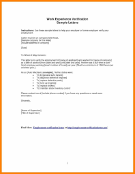 Example Certificate Work Certification Letter Sample To Whom It May