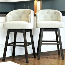 upholstered swivel bar stools. Upholstered Swivel Bar Stools Button Tufted Fabric Intended For Remodel R