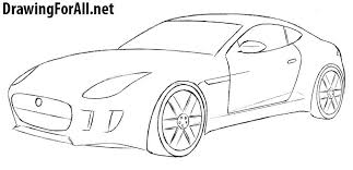 How To Draw A Jaguar Car Drawingforall Net Auto Electrical Wiring