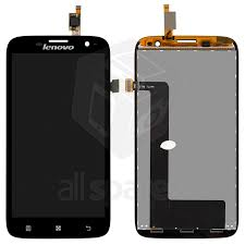 LCD compatible with Lenovo A859, (black ...