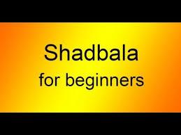 Shadbala Chart Shadbala For Beginners
