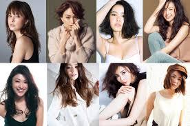 30代40代の私服髪型がおしゃれでかっこいい人気日本人女性モデルランキング