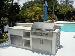 image of outdoor built in electric grills
